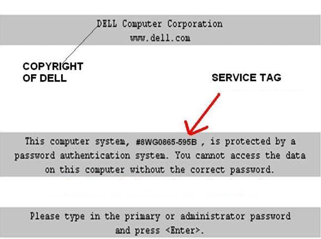 reset dell inspiron e1505 backdoor password